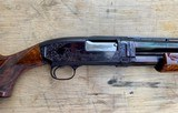 Winchester Model 12 Pigeon, 16g Angel Bee Engraved