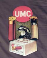 remington umc quail gun dealer's counter ad