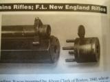 Joseph Tonks Percussion Marksman Rifle caliber .43- 7 of 8