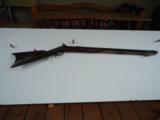 Joseph Tonks Percussion Marksman Rifle caliber .43- 1 of 8