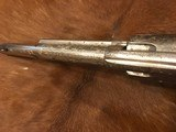Beautiful New York Engraved Colt Single Action Army .44 Etched Carved Snake & Eagle Ivory - 10 of 15