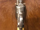 Beautiful New York Engraved Colt Single Action Army .44 Etched Carved Snake & Eagle Ivory - 11 of 15