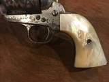 Texas Shipped, Colt Single Action Army .45, Pearl Grips, Nickel Letter Austin - 3 of 15