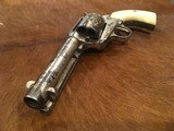 Texas Shipped, Colt Single Action Army .45, Pearl Grips, Nickel Letter Austin - 1 of 15