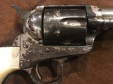 Texas Shipped, Colt Single Action Army .45, Pearl Grips, Nickel Letter Austin - 8 of 15