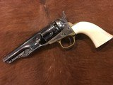 BEAUTIFUL ANTIQUE COLT 1862 POLICE REVOLVER MADE 1865