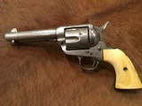 Factory Engraved, Texas Shipped, Colt Single Action Army .45 San Antonio 1901