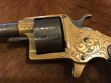FACTORY ENGRAVED COLT HOUSE MODEL ANTIQUE - 3 of 14