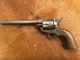"Antique Colt SAA .45, 7 1/2"" Made 1877"
