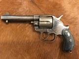 Antique Colt 1878 DA .44/40 Blue, Letter