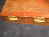 Vintage Fitted Wood Cased Savage pistol, Cal. 32, 7.65mm, 3 3/4, with one box of vintage ammo - 11 of 11