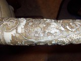 japaneseswordivory carved scabbard - 8 of 15