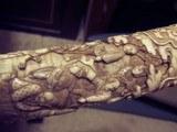 japaneseswordivory carved scabbard - 15 of 15