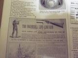 ingersollline gun patentmodel - 3 of 6