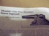 ingersollline gun patentmodel - 6 of 6