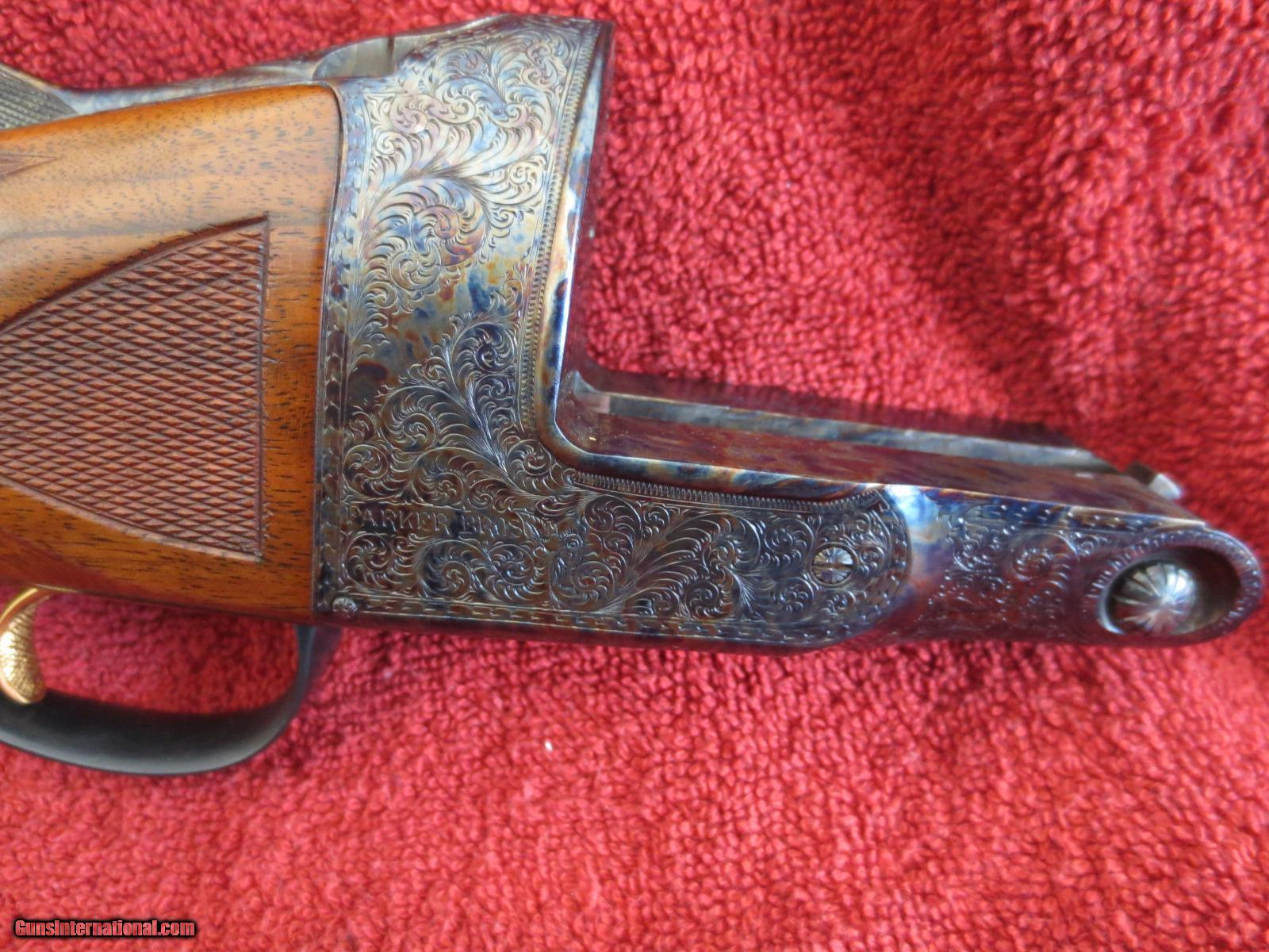Old Belgium 12 gage double hammer marked T. Parker