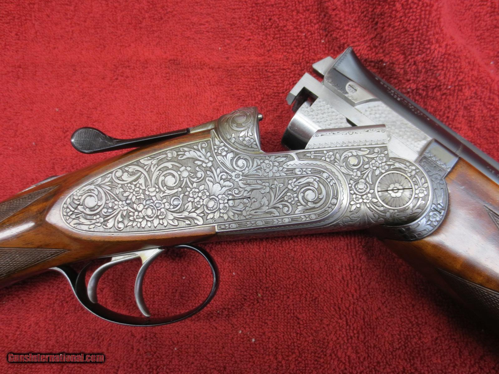 Beretta 12ga, SO4 Pedersoli engraved