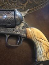 Exhibition Panel Scene Colt Single Action.45 cal. Antique - 5 of 7