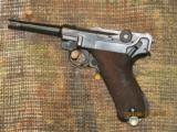 Mauser 1939 Code 42 Military Luger With Holster