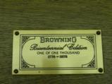BROWNING BICENTENNIAL SET 1876-1976MODEL 78 SINGLE SHOT CAL: 45/70
