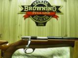 BROWNING BELGIUM SAFARI RIFLE CAL: 222 HEAVY BARREL WITH BEAUTIFUL WOOD 1964 PRODUCTION'NEW IN BOX - 4 of 11