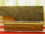 AAAA EXHIBITION GRADE CURLY FIDDLEBACK CLARO WALNUT 2 PIECE GUN STOCK BLANK - 4 of 4