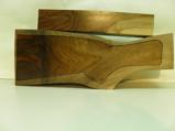 AA FANCY GRAFTED ENGLISH WALNUT 2 PIECE GUN STOCK BLANK - 1 of 4