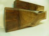 AA FANCY GRAFTED ENGLISH WALNUT 2 PIECE GUN STOCK BLANK - 2 of 4