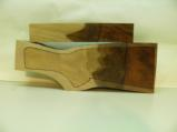 AA FANCY GRAFTED ENGLISH WALNUT 2 PIECE GUN STOCK BLANK - 3 of 4