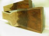 AA FANCY GRAFTED ENGLISH WALNUT 2 PIECE GUN STOCK BLANK - 4 of 4
