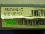 BROWNING BELGIUM MADE 9MM CAPITAN HI POWER WITH TAGENT SIGHTS 100% NEW IN FACTORY CASE! - 5 of 6