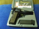 BROWNING BELGIUM MADE 9MM CAPITAN HI POWER WITH TAGENT SIGHTS 100% NEW IN FACTORY CASE! - 2 of 6