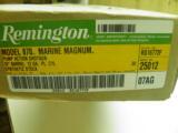 REMINGTON MODEL 870 SPECIAL PURPOSE MARINE MAGNUM 100% NEW IN FACTORY ORGINAL BOX! - 2 of 9