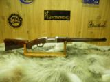 SAVAGE ARMS MODEL 99 CAL. 308 WIN. MANNLICHER WITH BEAUTIFUL ENGRAVING AND GAME SCENES.