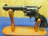 """COLT SAA 45 COLT 4 3/4"""" BARREL BEAUTIFUL HIGH GLOSS BLUE AND CASE COLORS UNFIRED IN FACTORY BOX - 3 of 10"""