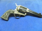 """COLT SAA 45 COLT 4 3/4"""" BARREL BEAUTIFUL HIGH GLOSS BLUE AND CASE COLORS UNFIRED IN FACTORY BOX - 8 of 10"""