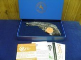 """COLT SAA 45 COLT 4 3/4"""" BARREL BEAUTIFUL HIGH GLOSS BLUE AND CASE COLORS UNFIRED IN FACTORY BOX - 2 of 10"""