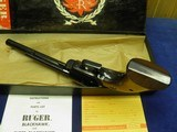 """RUGER SUPER BLACKHAWK 44 MAG OLD MODEL 3 SCREW 7 1/2"""" APPEARS UNFIRED IN FACTORY BOX! - 5 of 7"""