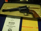 """RUGER SUPER BLACKHAWK 44 MAG OLD MODEL 3 SCREW 7 1/2"""" APPEARS UNFIRED IN FACTORY BOX! - 6 of 7"""