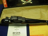 """RUGER SUPER BLACKHAWK 44 MAG OLD MODEL 3 SCREW 7 1/2"""" APPEARS UNFIRED IN FACTORY BOX! - 4 of 7"""