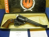 """RUGER SUPER BLACKHAWK 44 MAG OLD MODEL 3 SCREW 7 1/2"""" APPEARS UNFIRED IN FACTORY BOX! - 3 of 7"""