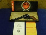 """RUGER SUPER BLACKHAWK 44 MAG OLD MODEL 3 SCREW 7 1/2"""" APPEARS UNFIRED IN FACTORY BOX! - 1 of 7"""