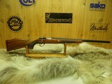 SAKO VIXEN AI CAL: 6PPC TARGET/ BENCHREST/ VARMINT, SINGLE SHOT 99%++ NICE FIGURED WOOD!!
