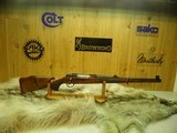 SAKO FINNBEAR MANNLICHER RARE CALIBER 9.3X62 NEW AND UNFIRED!