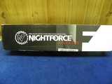 NIGHT FORCE COMPETITION 15 - 55 X 52 BENCH REST TARGET SCOPE 100% BRAND NEW IN FACTORY BOX!
