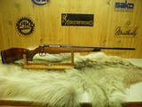 "COLT SAUER SPORTING RIFLE CAL: 7 REM MAG. WITH BEAUTIFUL FIGURE WOOD ""NEW AND UNFIRED"""
