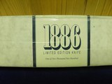 BROWNING LIMITED EDITION MODEL 1886 KNIFE 100% NEW IN FACTORY BOX!