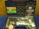 COLT 1911 CUSTOM SHOP ELPOTRO RAMPANTE 38 SUPER 1 OF 500 100% NEW AND UNFIRED IN COLT CASE! - 1 of 9