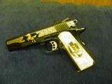 COLT 1911 CUSTOM SHOP ELPOTRO RAMPANTE 38 SUPER 1 OF 500 100% NEW AND UNFIRED IN COLT CASE! - 7 of 9