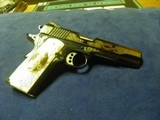 COLT 1911 CUSTOM SHOP ELPOTRO RAMPANTE 38 SUPER 1 OF 500 100% NEW AND UNFIRED IN COLT CASE! - 8 of 9